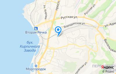 Местоположение на карте пункта техосмотра по адресу г Владивосток, ул Иртышская, д 10А