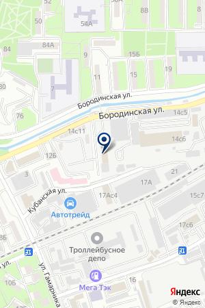 Владхолод на карте Владивостока