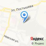 Стеил-Якутск на карте Владивостока