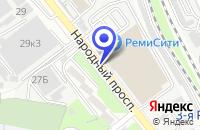 Схема проезда до компании НАРОДНОЕ ОКНО во Владивостоке