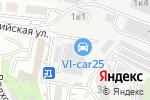Схема проезда до компании Бригантина во Владивостоке