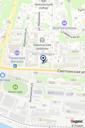 Водный мир на карте Владивостока