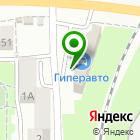 Местоположение компании Автошкола ПРОФИ ЦЕНТР, АНОО