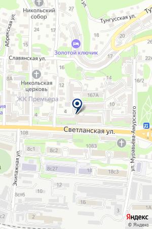 МАСКОМ-Приморье на карте Владивостока
