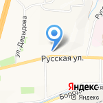 Отдел административно-территориального управления Советского района на карте Владивостока