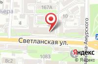 Схема проезда до компании Агентство Виайпи Прогресс во Владивостоке