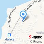 Асепт на карте Владивостока