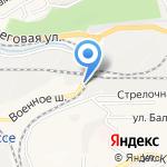 Лесопарк на карте Владивостока