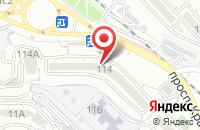 Схема проезда до компании Дрессировка и Спорт во Владивостоке