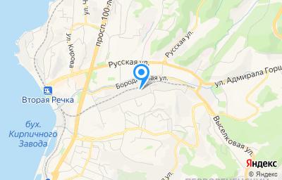 Местоположение на карте пункта техосмотра по адресу г Владивосток, ул Иртышская, д 19
