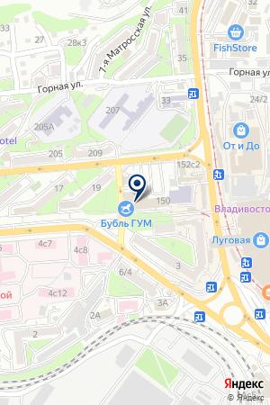 Разум Плюс, торгово-монтажная компания по продаже и установке натяжных потолков, еврожалюзи, кондиционеров на карте Владивостока