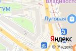 Схема проезда до компании Мастер Стиль во Владивостоке