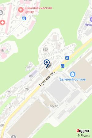 Айви-ДВ на карте Владивостока