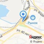 Восточный банк на карте Владивостока