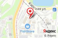 Схема проезда до компании Приморье во Владивостоке