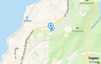 Местоположение на карте пункта техосмотра по адресу г Владивосток, ул Маковского, д 14Г