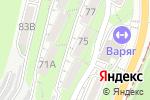 Схема проезда до компании Жилспецсервис-1 во Владивостоке