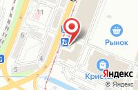 Схема проезда до компании Шиномонтажная мастерская в Обском