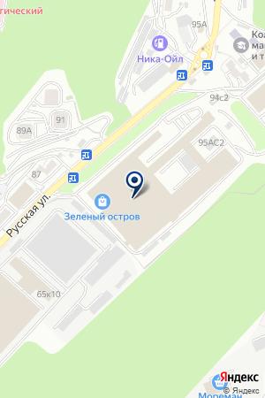 Техэксперт на карте Владивостока