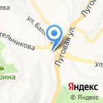 Открытое сердце на карте Владивостока