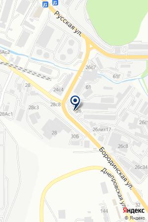 Гидросфера на карте Владивостока