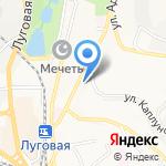 Дальневосточный федеральный университет на карте Владивостока