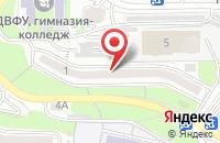 Схема проезда до компании Класс Доктора Юдина во Владивостоке