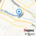 Магазин напитков и продуктов на карте Владивостока