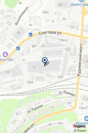 Корд-ДВ на карте Владивостока