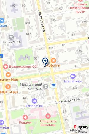 АВАРИЙНАЯ СЛУЖБА РЕМОНТА ЛИФТОВ на карте Уссурийска