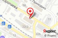 Схема проезда до компании Федерация Комплексного Единоборства России во Владивостоке