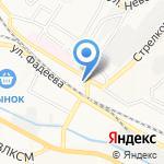 Дальтех на карте Владивостока
