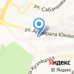 Горизонт на карте Владивостока