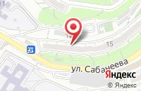 Схема проезда до компании Краски во Владивостоке