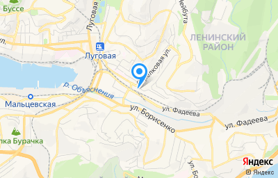 Местоположение на карте пункта техосмотра по адресу г Владивосток, ул Воропаева, д 22Г