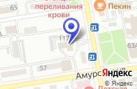 Схема проезда до компании МАГАЗИН МЕБЕЛЬ в Уссурийске