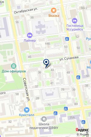DEVELE на карте Уссурийска