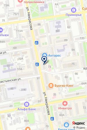 АВТОБОКС ТРАМП на карте Уссурийска