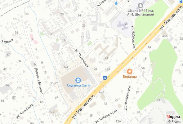 жилой комплекс  Дом на Полетаева