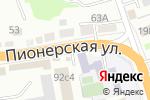 Схема проезда до компании Ресурс в Уссурийске