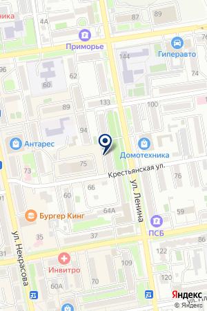Приморский центр социального обслуживания населения на карте Уссурийска
