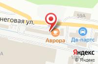 Схема проезда до компании Аметист во Владивостоке