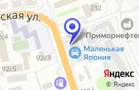 Схема проезда до компании ПРИМОРСКАГРОПРОМСНАБ МАГАЗИН в Уссурийске