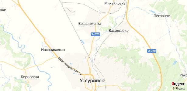 Тимирязевский на карте