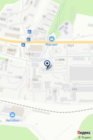 ТТК Логика на карте Владивостока