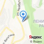Отделение почтовой связи №109 на карте Владивостока