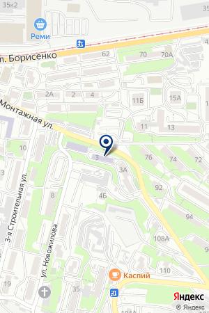 Автошкола на карте Владивостока