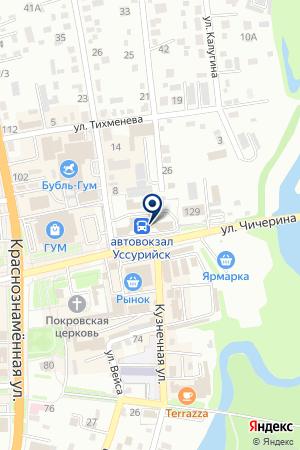 АВТОКОЛОННА 1273 ПРИМОРАВТОТРАНС на карте Уссурийска