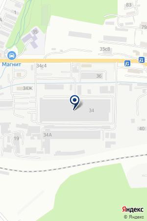ТехноСнаб-ДВ на карте Владивостока