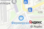 Схема проезда до компании Норита-Бизнес Букет во Владивостоке